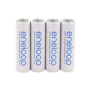 4x Panasonic eneloop Rechargeable AA Batteries NiMH min. 1900mAh BK-3M BK-3MCCE