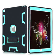 """Heavy Duty Hybrid Shockproof Hard Case Cover Rubber Stand for iPad Pro 12.9"""""""