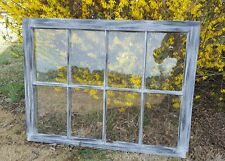 VINTAGE SASH ANTIQUE WOOD WINDOW  FRAME PINTEREST RUSTIC DISTRESSED 40x27 SHABBY