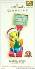 Twuthful Tweety Looney Tunes Magic Light Hallmark Ornament 2006