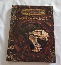 DONJONS & DRAGONS-Monster Manual III