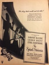 The Spiral Staircase, Dorothy McGuire, Full Page Vintage Promotional Ad