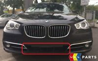 BMW NEW GENUINE F07 GT LCI FRONT BUMPER CENTER LOWER GRILLE FITS WITHOUT ACC
