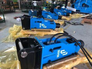 Hydraulic Hammer Cylindrical Top Breaker mini excavator (Cat 420)