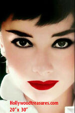 "Audrey Hepburn~Hair Salon~Salon Decor~Beauty~Photo~Poster~20"" x  30"""