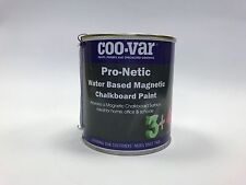 500ml Coo-Var Pro-Netic Water Based Magnetic Black Chalkboard Paint