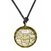 Ball Necklace 72 Name of God Jewish Amulet Silver 925 Gold Plated King Solomon