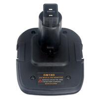 Battery Adapter for Dewalt DM18D Converter Milwaukee Battery to Dewalt Tools