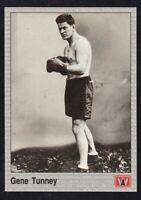 1991 AW Sports All World Boxing Gene Tunney #120 NRMINT / MINT.