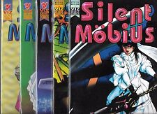 SILENT MOBIUS PART 4 FOUR #1-#5 SET (NM-) VIZ MANGA COMICS
