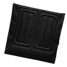 Invacare Seat Upholstery, 18 Inch Wide x 16 Inch Deep, Embossed, Black