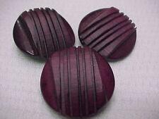 Vintage Set of Buttons (Set # 89) Purple Buttons