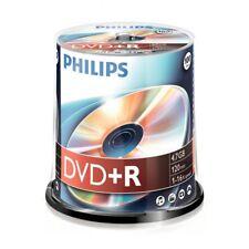Philips DVD+R Rohlinge 100er DR4S6B00F/00 Spindel 4.7 GB 16x NEU Spindel