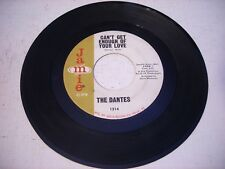 The Dantes Can't Get Enough of Your Love / 80 - 96 1966 45rpm GARAGE