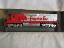Athearn HO Scale Train Santa Fe SDP40 Diesel Locomotive Powered 4107