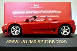 1/43 IXO Ferrari 360 Modena Spider in Ferrari Red. Mint and Boxed. FER008