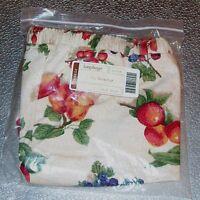 Longaberger Fruit Medley LARGE DESKTOP Basket Liner ~ Brand New in Package!
