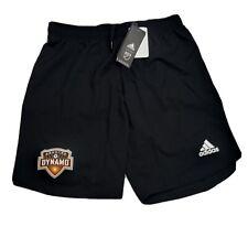 Houston Dynamo MLS Adidas Aeroready Authentic Soccer Shorts SZ Medium & XL $60