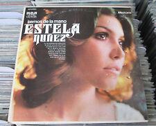 ESTELA NUÑEZ IREMOS DE LA MANO MEXICAN LP POP EN ESPAÑOL