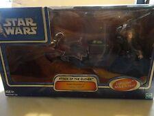 Star Wars Attack of the Clones Anakin Skywalker's  Swoop Bike Set