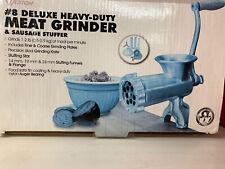 Weston 36-0801-W #8 Deluxe Heavy Duty  Manual Meat Grinder