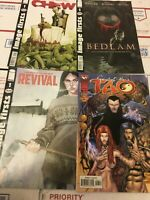 Lot of 4 IMAGE COMICS  Chew Bedlam Revival & Spirit of Tao