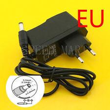 DC 6V 1A Power Supply AC Converter Adapter EU plug charger  5.5*2.1 6W 1m