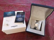 Longines Conquest Stainless Steel Ladies Wrist Watch