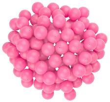 3/4 Mini Ping Pong / Table Tennis / Beer Pong Round Pink Balls - 19mm - 100pk