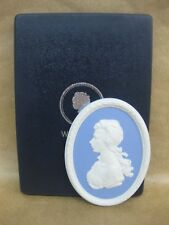 Wedgwood Jasperware Princess Anne Cameo Portrait Plaque ~ Boxed ~ Ltd. Ed.