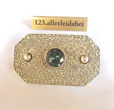 Rar Theodor Fahrner Spinell Brosche 925 Silber um 1930 old silver brooch /WW 818