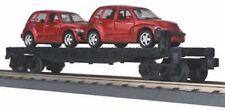 30-76039 Flat Car - MTH/Railking Auto Transport w/( 2) PT Crusiers Mint in Box