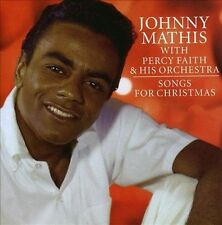 JOHNNY MATHIS/PERCY FAITH & HIS ORCHESTRA - SONGS FOR CHRISTMAS (NEW CD)