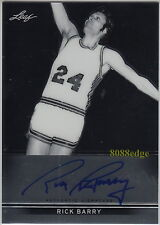 2012-13 LEAF METAL AUTO: RICK BARRY-AUTOGRAPH SCORING LEADER NCAA/ABA/NBA TOP 50