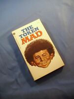 THE TOKEN MAD PAPERBACK BOOK Warner 74-380-1973 ~ VG Cond.
