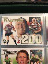 2007 Select NRL Invincible Trading Cards Case Card CC9: Craig Fitzgibbon