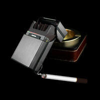 Aluminum Metal Cigar Cigarette Box Holder Pocket Tobacco Storage Case Hot