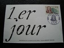 FRANCE - carte 1er jour 12/2/1966 (francois mansart) (cy56) french