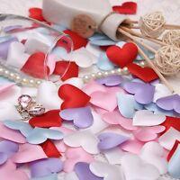 200pcs Wedding decoration heart petals Appliques decor marriage supply bridal