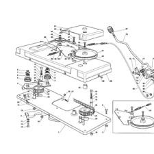 "Castlegarden TC122 TCP122  35065601/0 D/S Timing Belt 48"" Cut Deck Castle Garden"