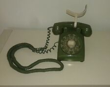 Vintage Western Electric Sage Green Rotary Dial Telephone
