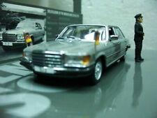 WOW EXTREMELY RARE Mercedes W116 350 SEL 1974 Chancellor Schmidt 1:43 Minichamps