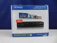 STRONG SRT 7004 numérique HD Satellite Receiver Flux RSS Noir catégorie B