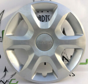 "DACIA SANDERO GENUINE 15"" SILVER WHEEL TRIM CAP COVER - 6 SPOKE 8200756961"
