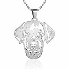 Stainless Steel Labrador Lab Pet Dog Tag Collar Charm Pendant PLUS FREE Necklace