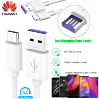 Authentic HUAWEI USB TYPE C 5A FAST CHARGE SYNC DATA CABLE FOR P9 P10 PLUS MATE9
