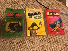 BATMAN 3 VILLAINS OF DOOM, FEARSOME FOURSOME best of original 66 paperback