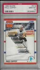 1990 Score #319 Paul Coffey PSA 10 GEM MINT Penguins AS