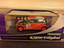 Scalextric Digital Mini Cooper Beautran No33 C2732D Pristine Boxed