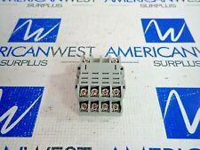 LOT OF 3 IDEC SH4B-05 SOCKET BASE 10A 300V